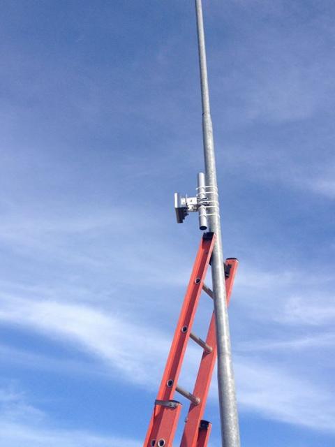Cabo sensor microfônico detecção de vibração e movimento