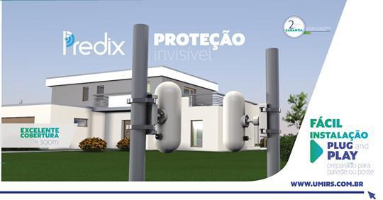 Proteção perimetral cabo microfônico
