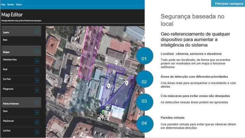 Radar segurança e vigilância personalizada